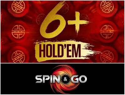 6+ Holdem Spin'n'Go
