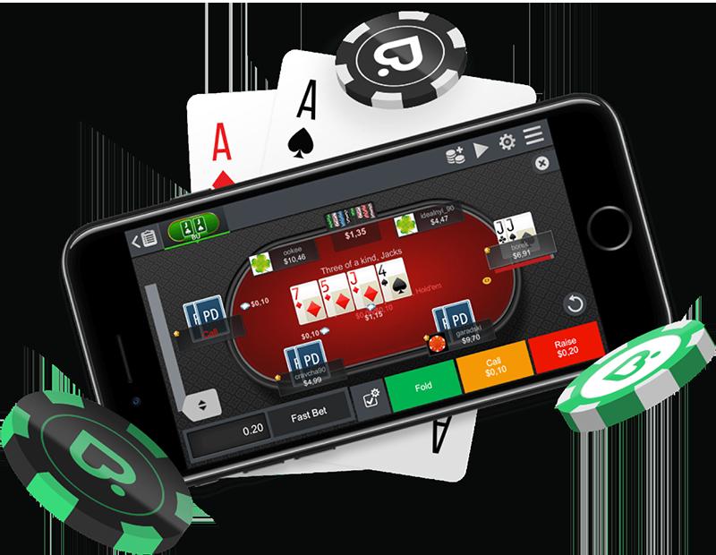 Покердом с телефона