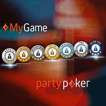 Обучающий сервис MyGame от PartyPoker.